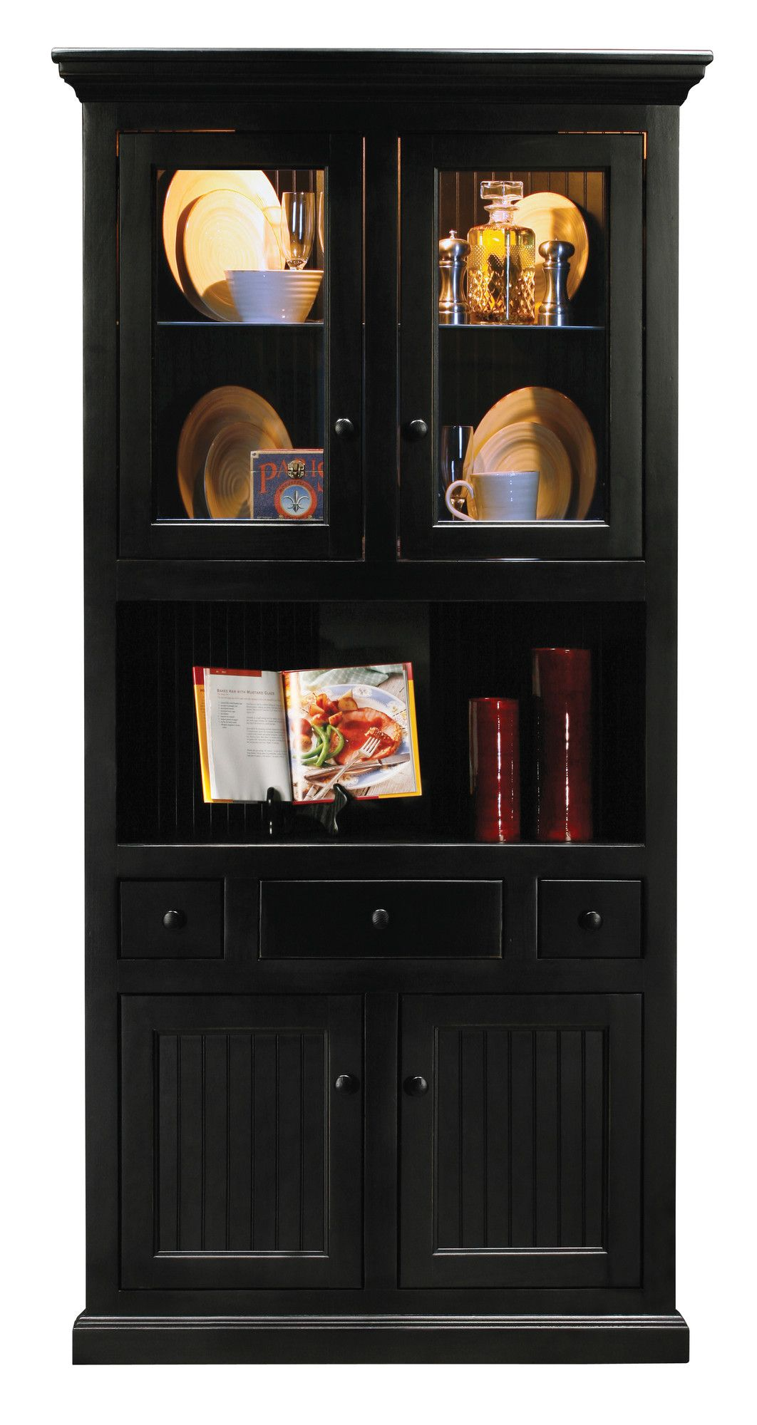 Eagle Furniture Manufacturing Coastal Corner China Cabinet & Reviews