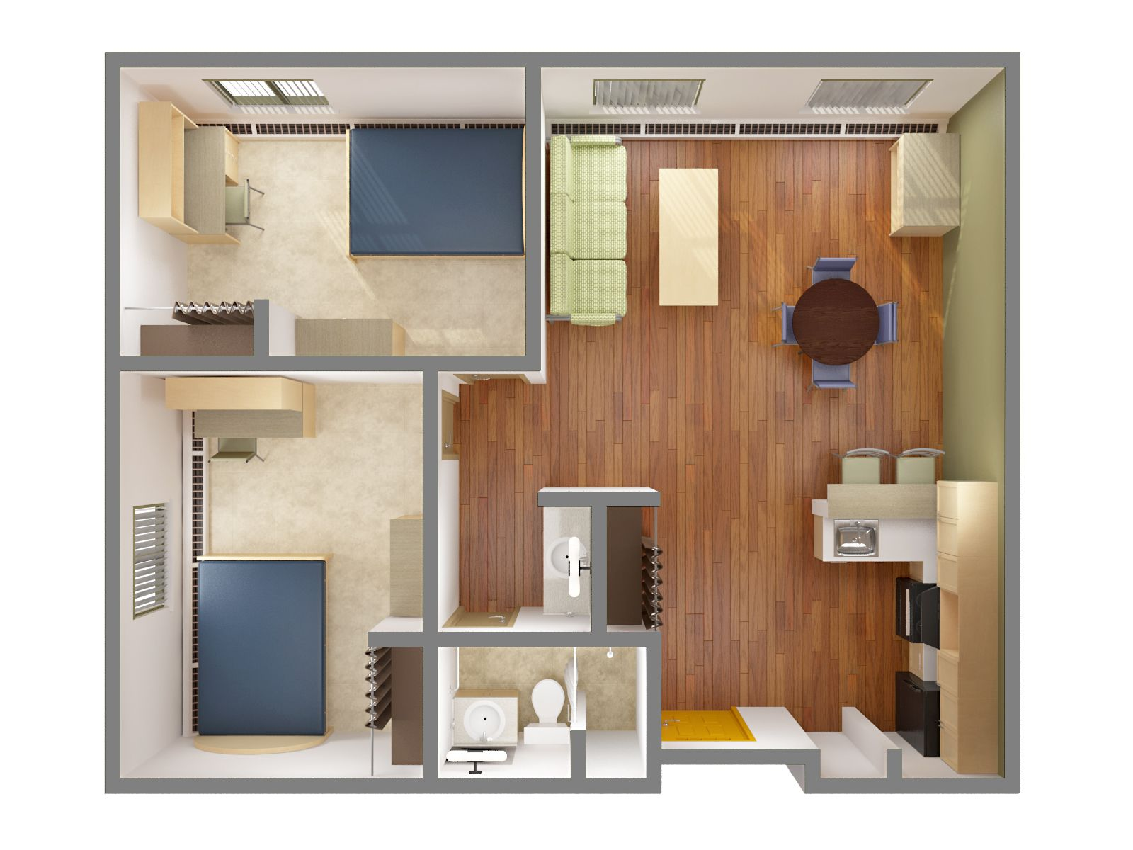 Graduate Residence Residence Services 2 Bedroom Apartment Apartments For Rent Cheap Bedroom Ideas