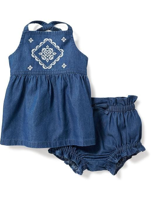 a02c911a6717 2-Piece Tank and Ruffled Bloomer Set for Baby