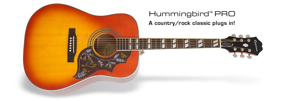 Epiphone Hummingbird Pro Best Acoustic Guitar Acoustic Electric Guitar For Beginners
