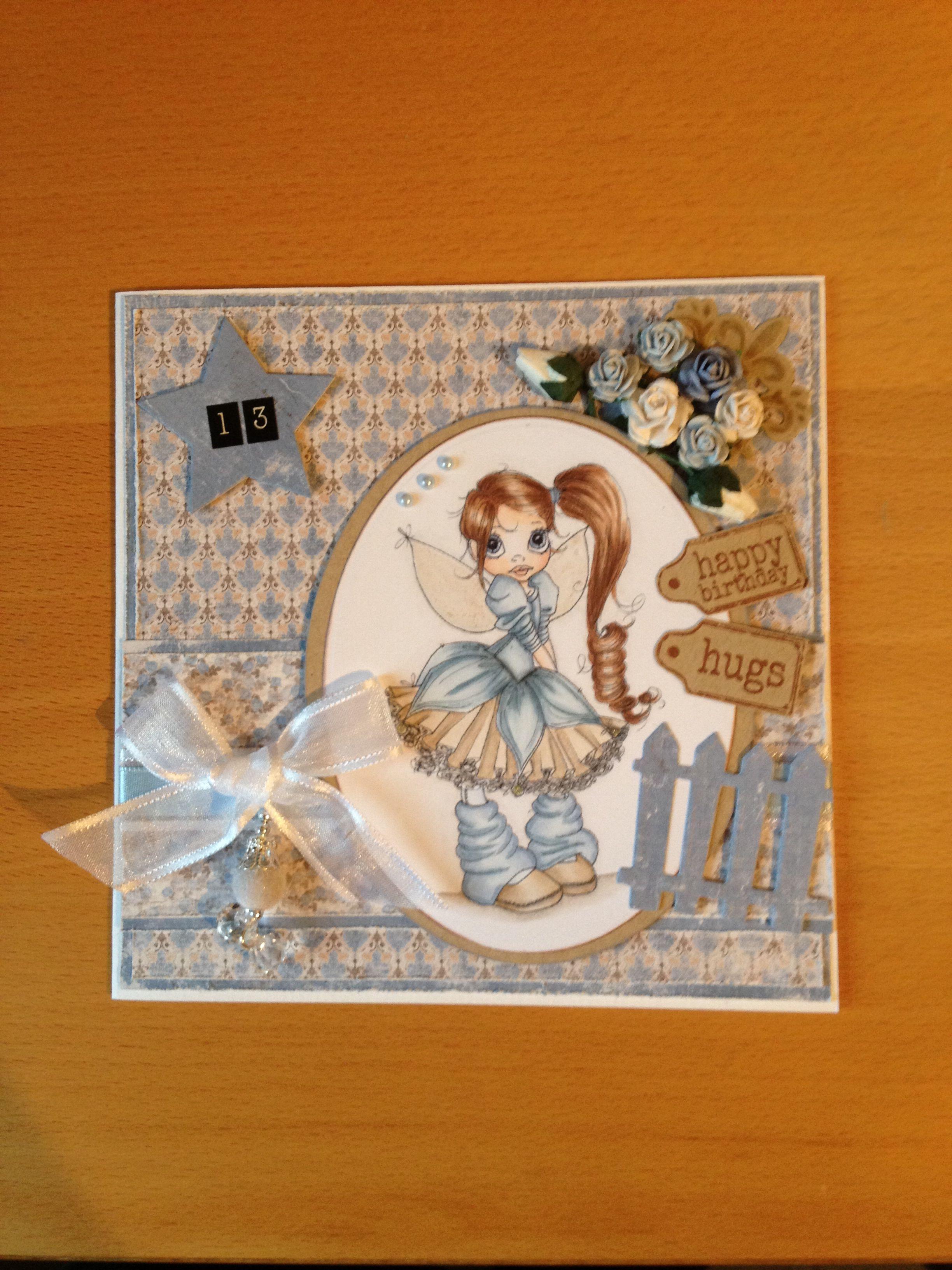 Birthday card girl 13 years old