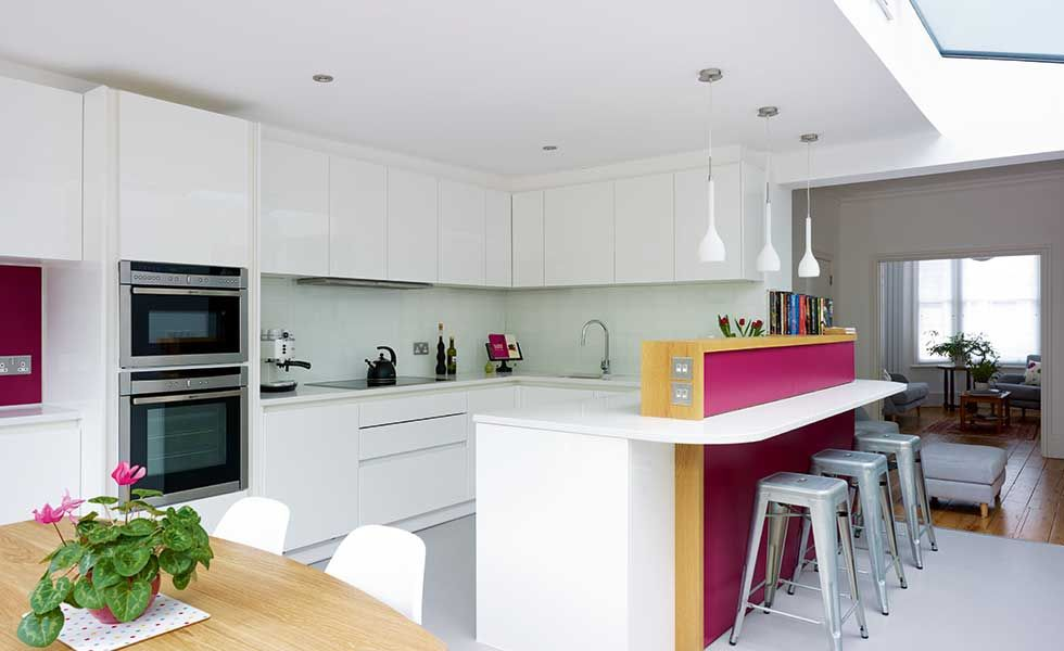 Pink Sofa Pink Furniture Pink Decor Living Room Decor Room Prepossessing Small Kitchen And Dining Design Inspiration