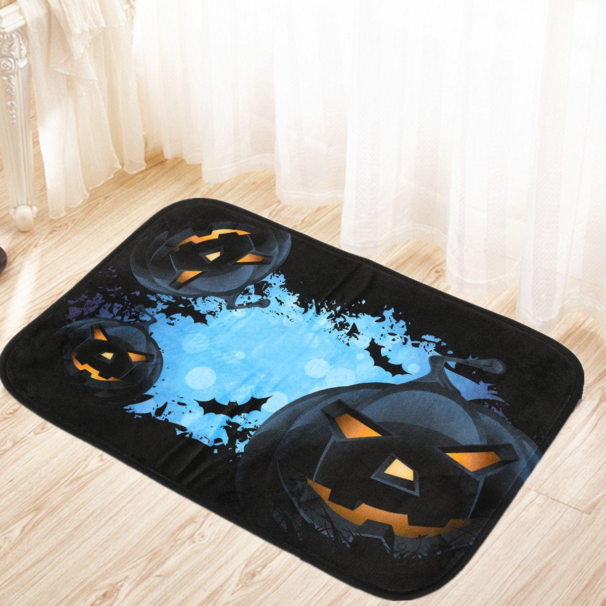 40x60cm De Calabaza De Halloween Antideslizante Ba O Estera De  ~ Suelos Antideslizantes Para Cuartos De Baño