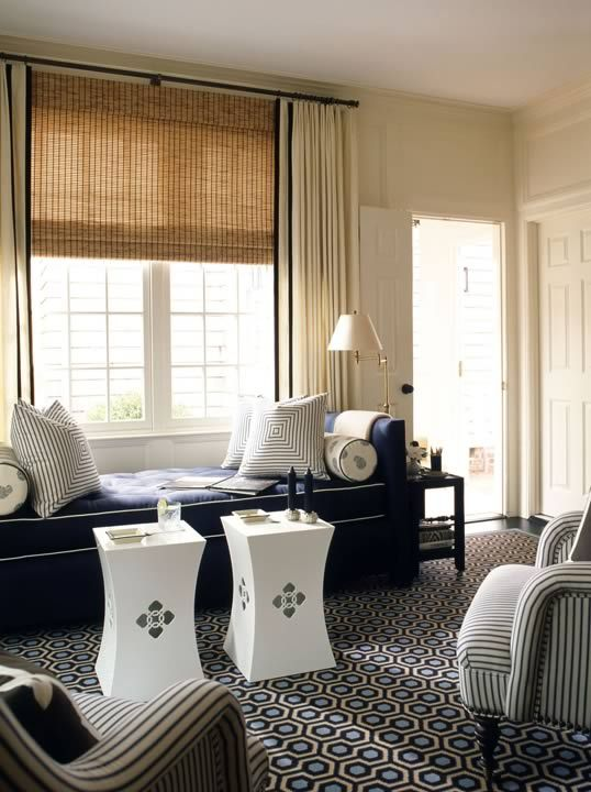 Spotlight Ashley Whittaker Woven Shades Home Chic Living Room