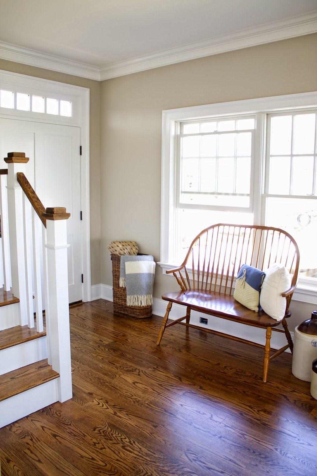 Foyer Paint Uk : Benjamin moore revere pewter living rooms