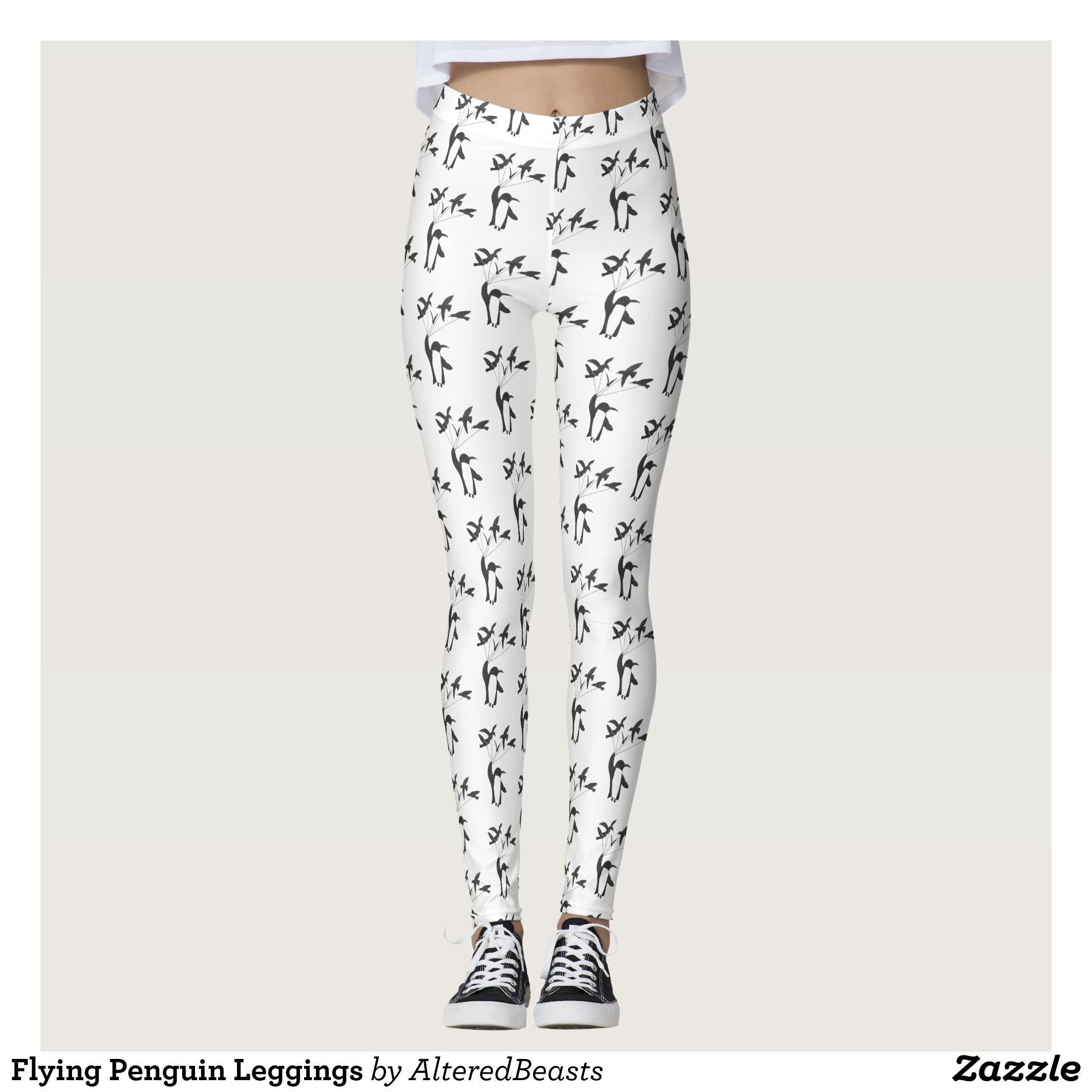Flying Penguin Leggings Beautiful Yoga Pants Exercise Leggings And Running Tights Health And Training Inspiration Wife Clothes Clothes Comfy Outfits
