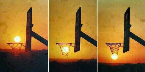 Dunking of the Sun...