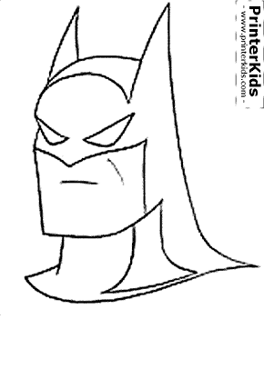 The Batman Head Mask