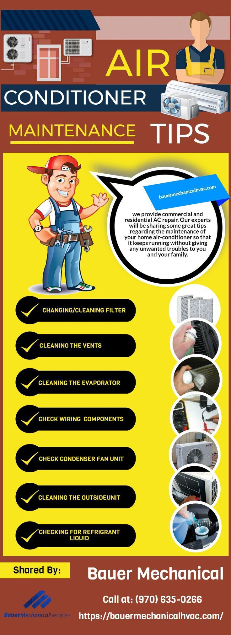 Pin on Air conditioning maintenance in California