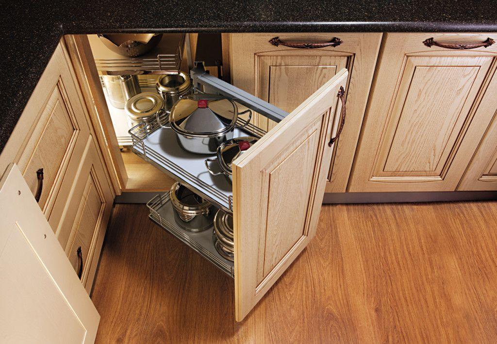 Smart Solution For Corner Kitchen Unit Ideas Small Space ...