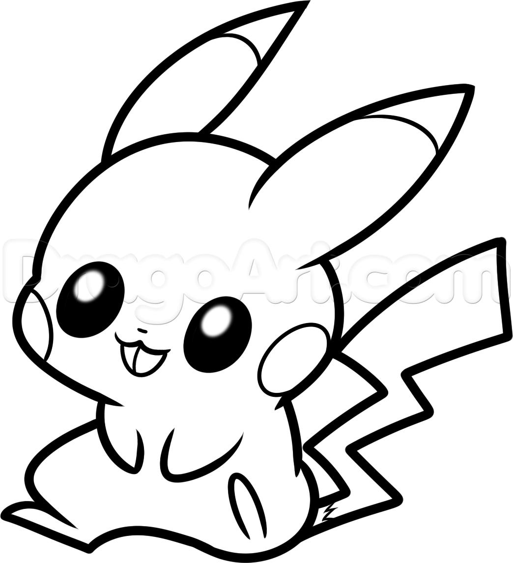 Pikachu Color Page