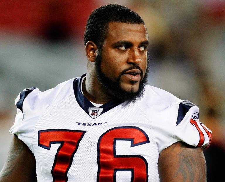 Duane Brown of the Houston Texans Texans football