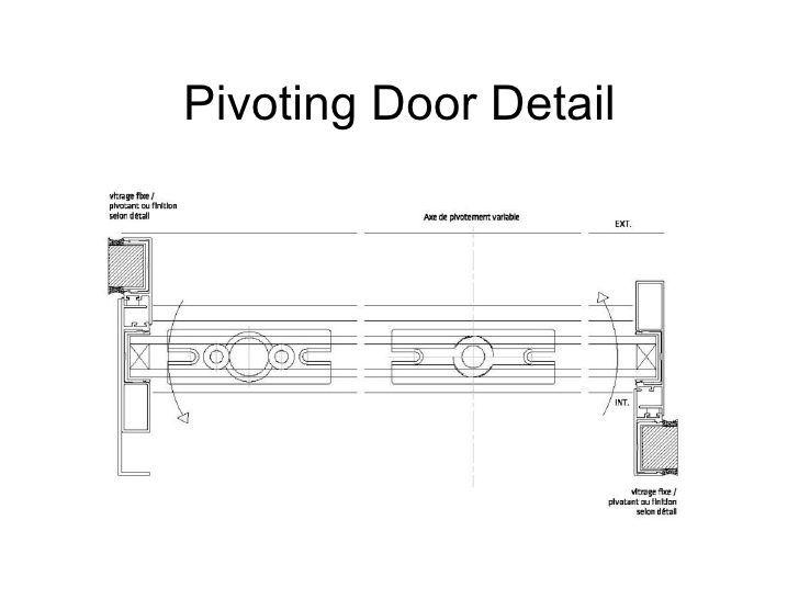 Pivot Door Detail Amp Rixson 370 Center Hung Pivot Set