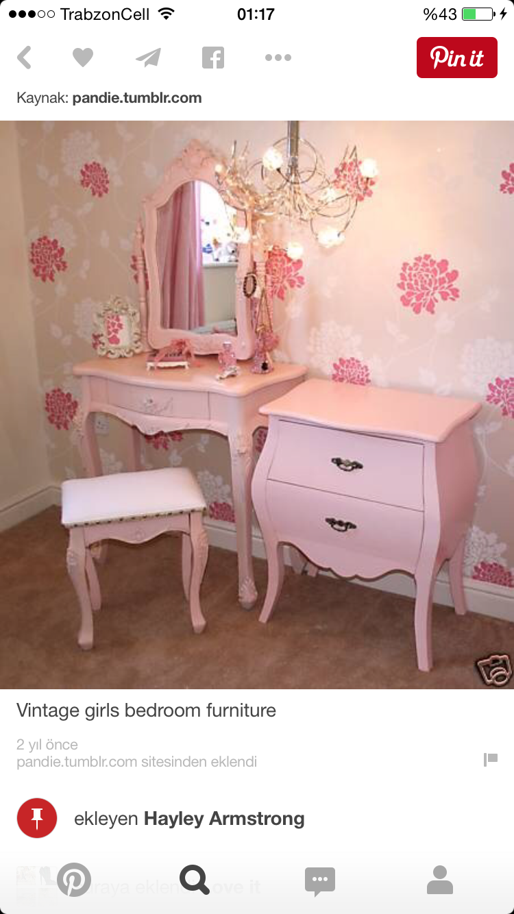 For the girl room | P A I G E .... MY LOVE | Pinterest | Tocador ...