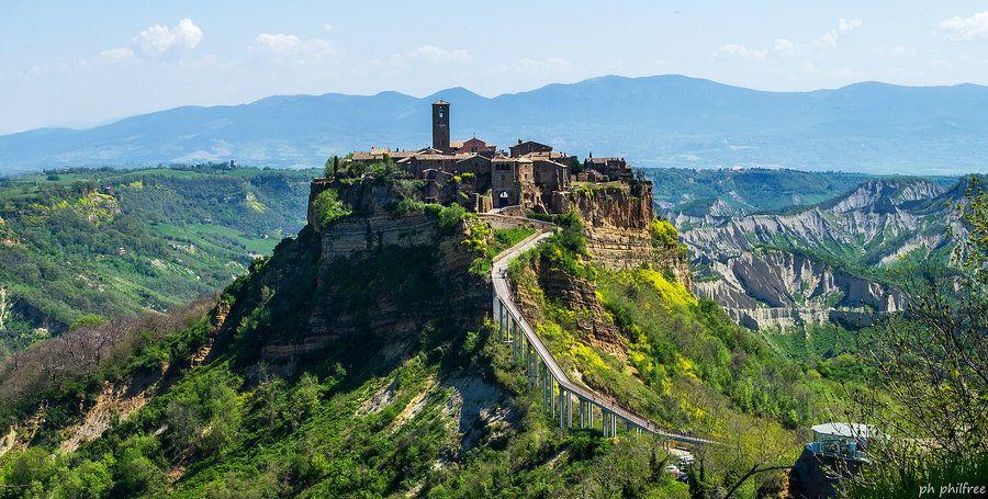 Civita Di Bagnoregio Viterbo Lazio Italy Monument Valley