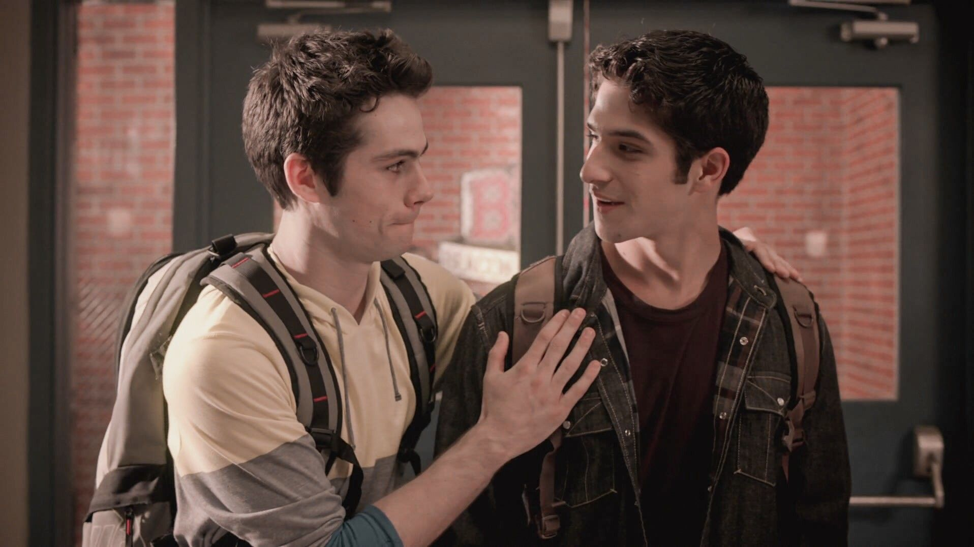 Photo of Dylan O'Brien and Tyler Posey