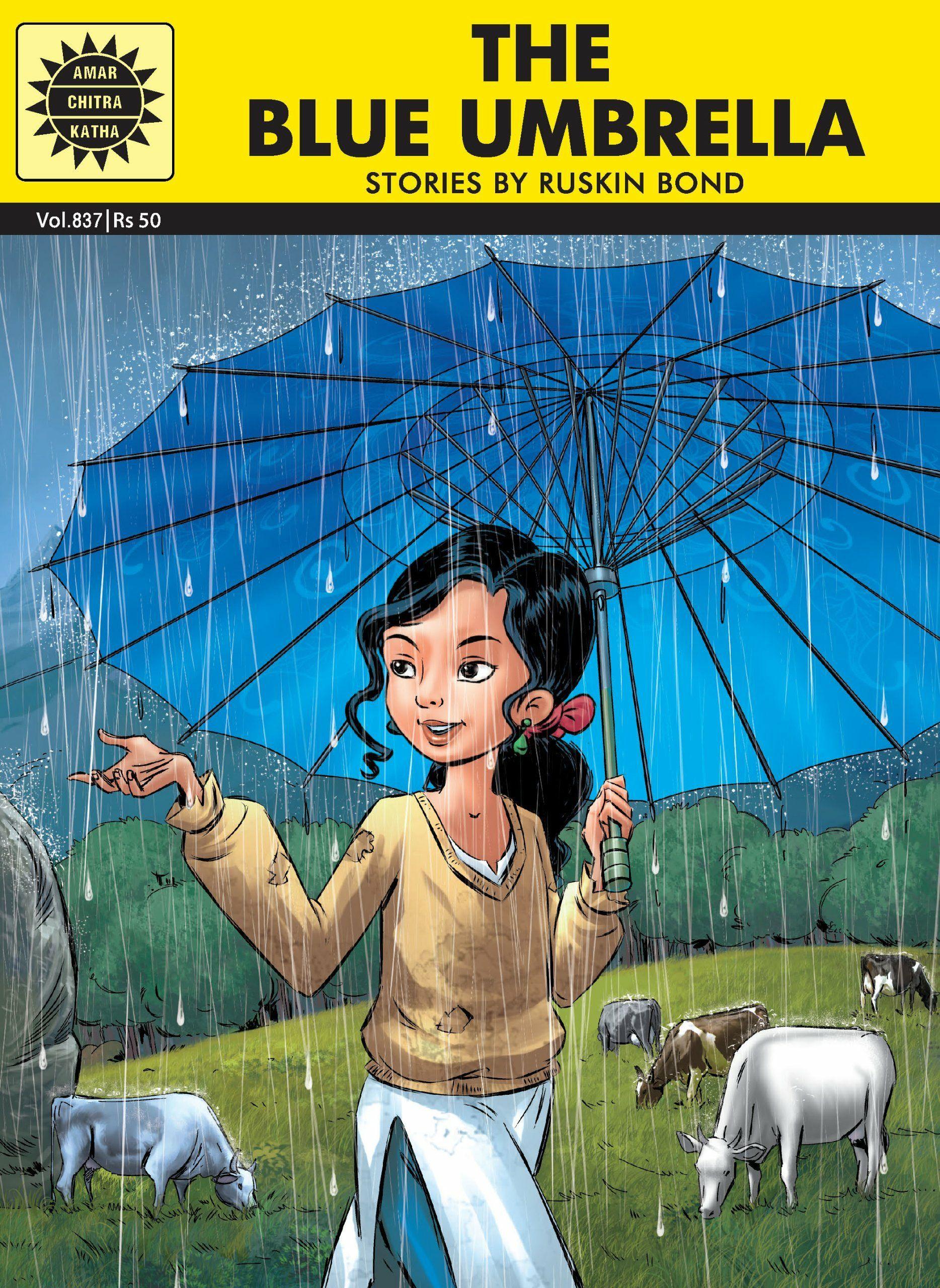 The Blue Umbrella By Ruskin Bond Snapshot Ruskin Bond Ruskin Bond Stories Blue Umbrella