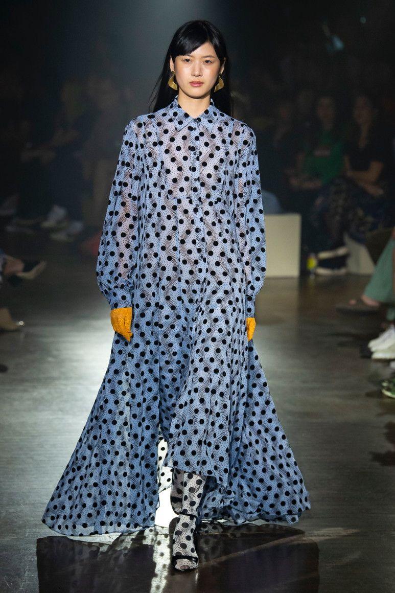 b2f0aa6b KENZO MENSWEAR spring-summer 2019,fashion   Dots in 2019   Fashion ...