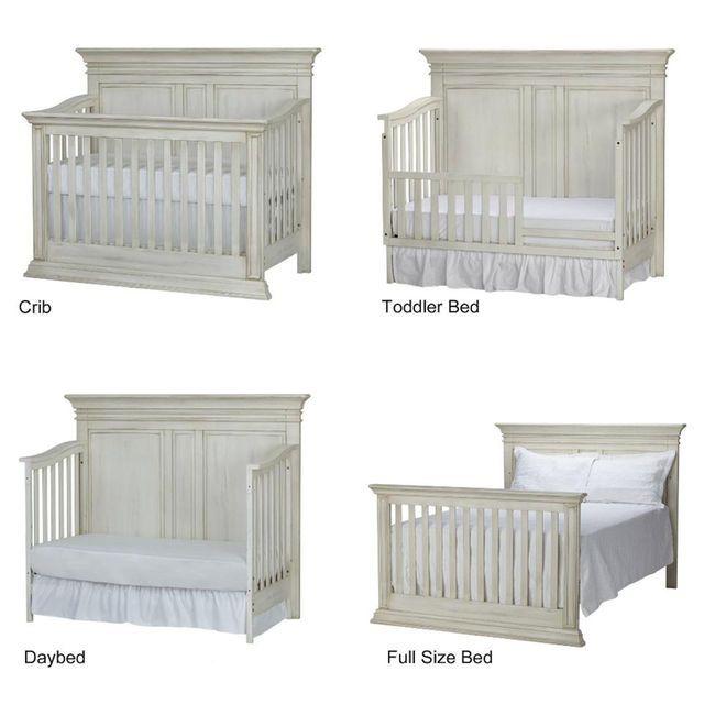 Baby Cache Vienna 4-in-1 Convertible Crib - Antique White - Baby Cache Vienna 4-in-1 Convertible Crib - Antique White Read Thi