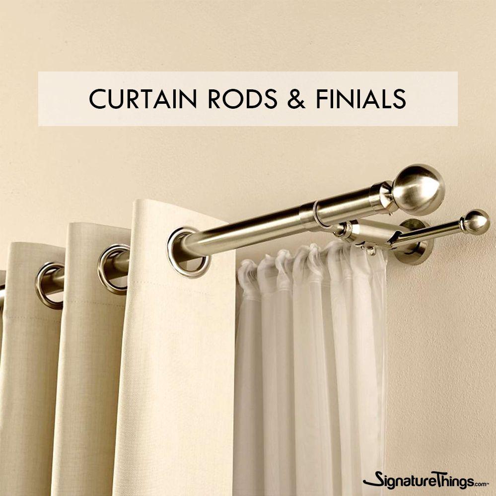 designer drapery hardware curtain rods