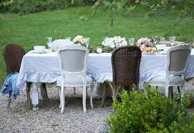 FRENCH COUNTRY COTTAGE: Summer Garden Party Event