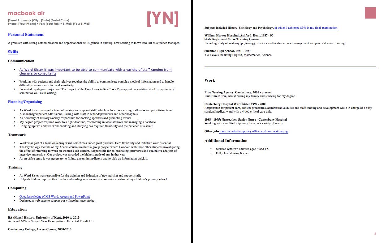Sample Resume For OJT HRM Student Free resume samples
