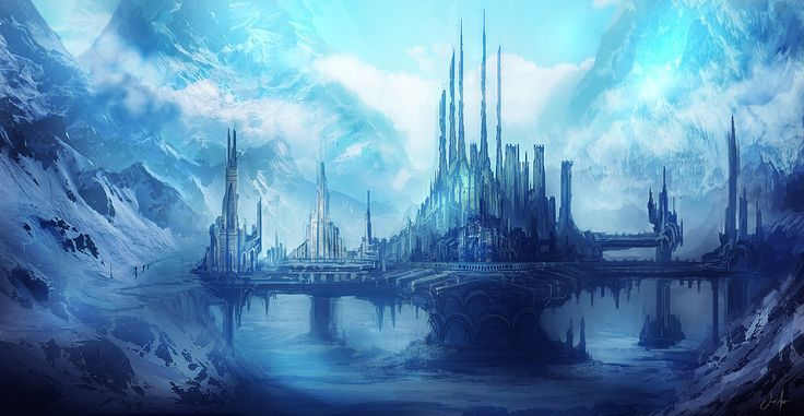 Image Result For Fantasy Ice Palace Fantasy Pinterest