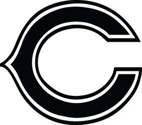 chicago bears football logo custom vinyl graphic by vinylgrafix rh pinterest com  chicago bears clip art free