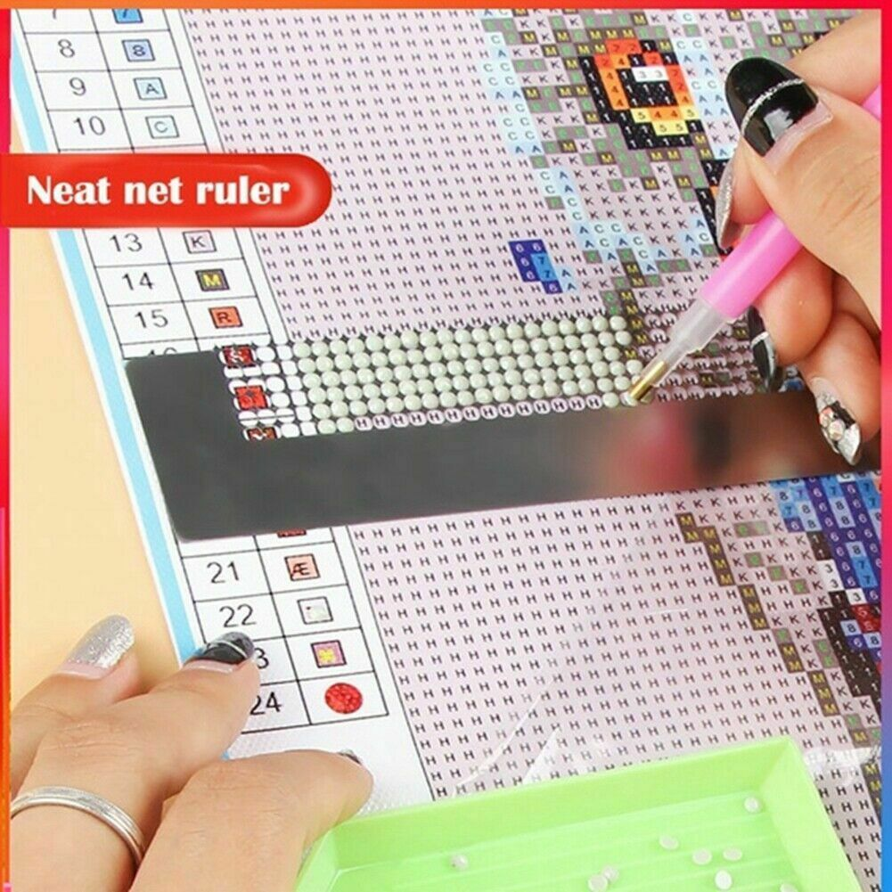 Diamond Painting Ruler Cross Embroidery DIY Embroidery Accessories 5D Full Drill