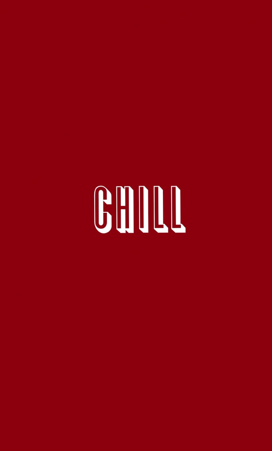 Aesthetic Red Quote Wallpaper Background Netflix And Chill
