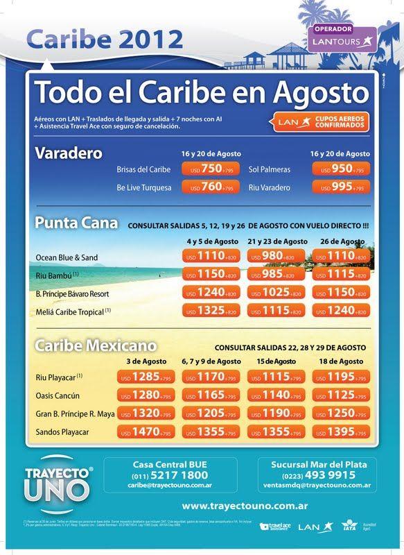 Caribe...el destino que quieras..la PLAYA QUE DESEES!