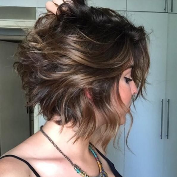 Short Hairstyle With Color Ideas
