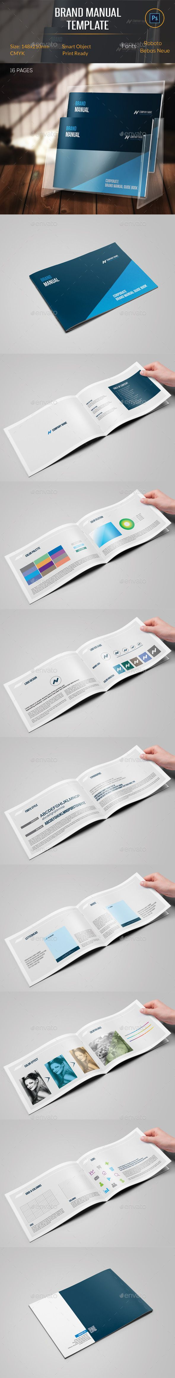 Brand Manual Template  Brand Manual Template And Brochures