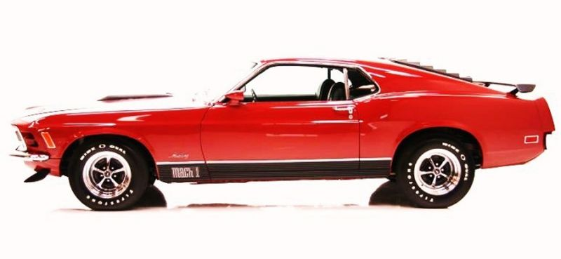 Someday ours will look like this 1970 FORD MUSTANG MACH 1