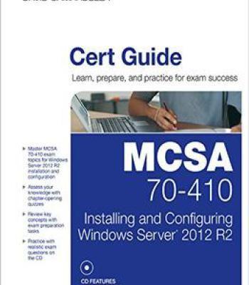Mcsa 70 410 Cert Guide R2 Pdf Windows Server 2012 Windows Server Cert