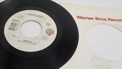 Grateful Dead Truckin' / Sugar Magnolia 7-21988 Warner Bros. 45 RPM Record   eBay