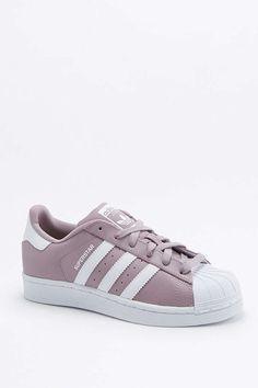 adidas Originals Superstar Mauve Superstar Trainers | Adidas shoes ...