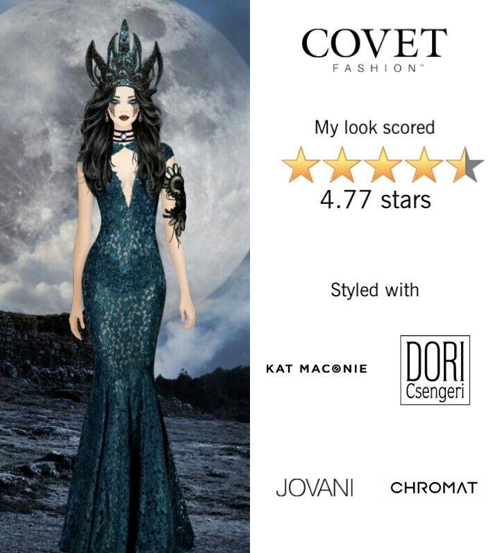 Dark Queen Covet Wins Formal Dresses Star Fashion Fashion
