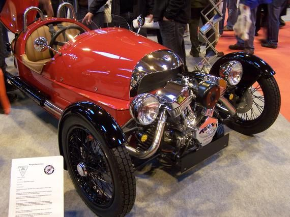 Photograph: Morgan Three 3 Wheeler V-Twin engine (2011 Classic Car Show) – Digital Download jpeg jpg file