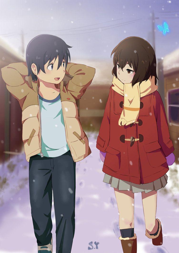 Erased by on deviantart anime guys