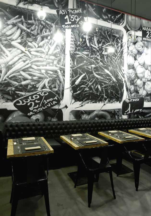 Sabor vintage en el restaurante vi cool by sergi arola de madrid cafeter as decoracion - Restaurante sergi arola en madrid ...