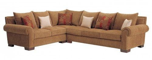 Johnson 2 Pc Sectional W Down Seats Amp Backs Diggs