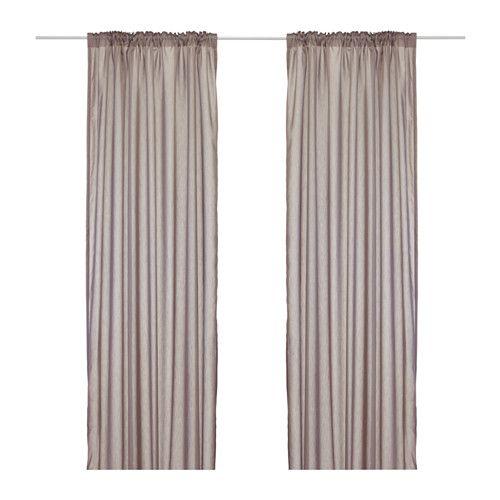 Ikea   torhild, visillo, par, , las cortinas filtran la luz y, al ...