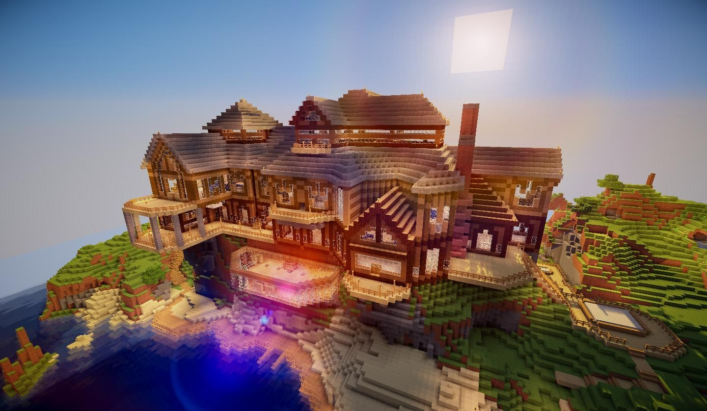 8 Minecraft Mansions For Your Inspiration Minecraft Mansion