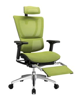 ergonomic chair with leg rest how to paint leather mirus office new life pinterest