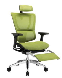 mirus office chair leg rest new furniture reclining office