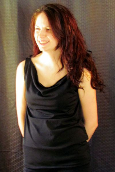 Image of The Cowl Neck Top for Women XS-XXL (Sizes 0-24)