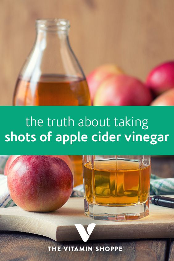 The Truth About Taking Shots Of Apple Cider Vinegar ...