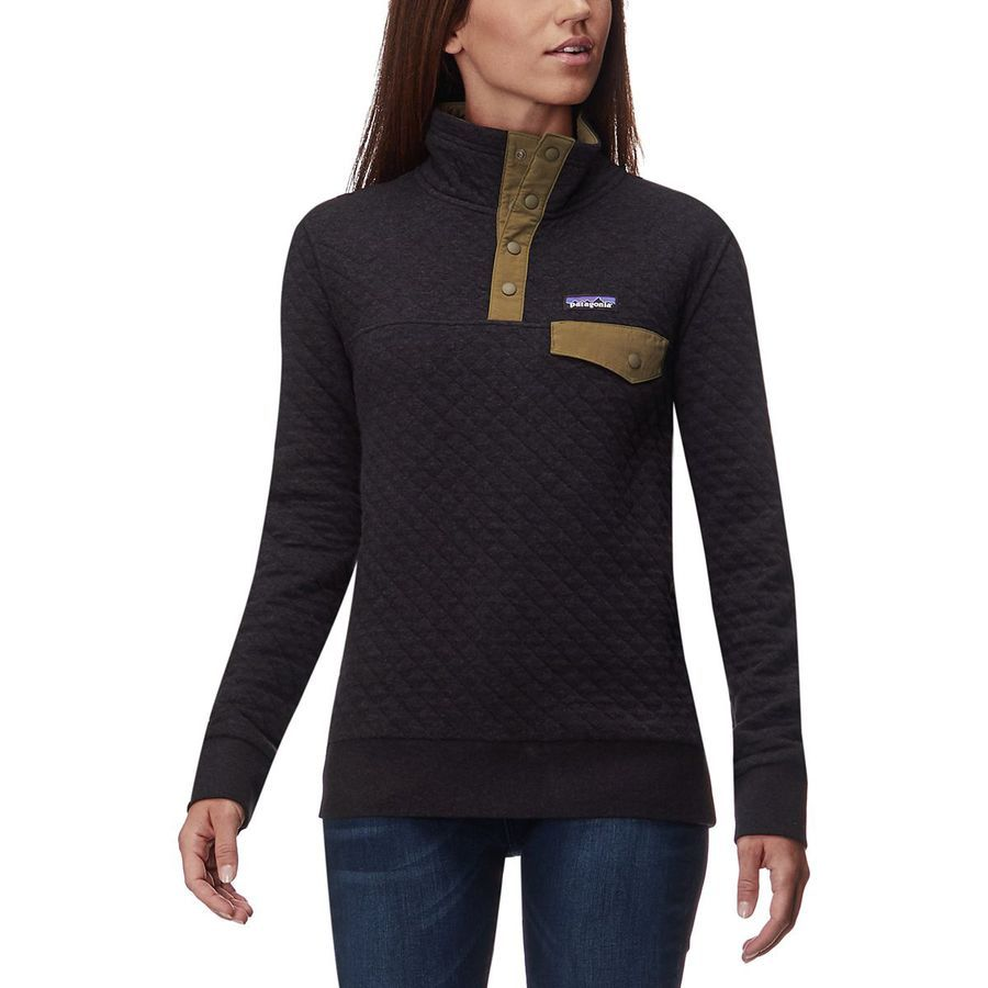 Patagonia Organic Cotton Quilt Snap T Pullover