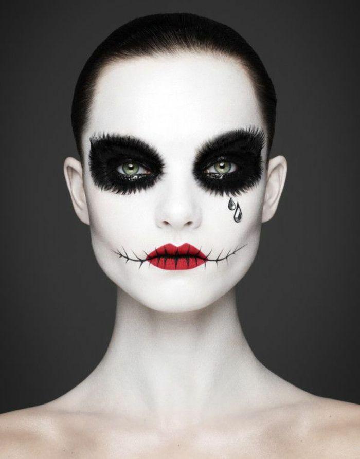halloween schminkideen für frauen